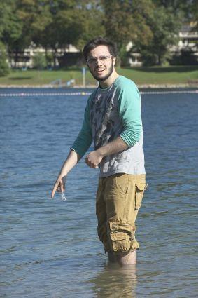guck mal... ein Fisch :D