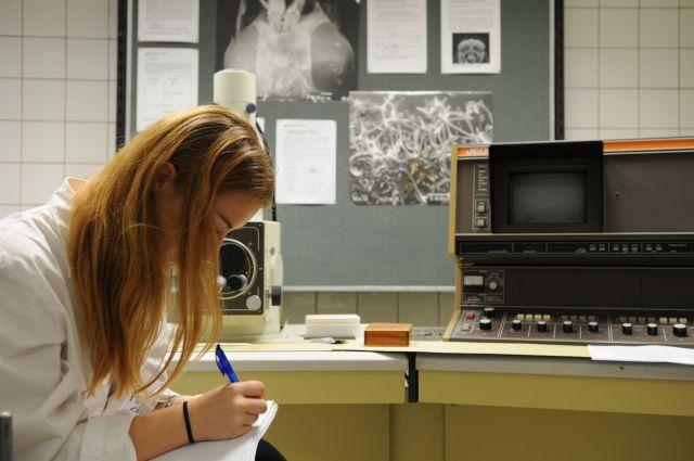 Rasterelektronenmikroskop (alt aber unseres!)